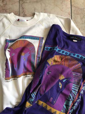 Vintage 1980's Laurel BURCH Horses Sweatshirt and Tunic for Sale in Alameda, CA