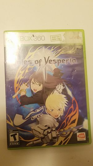 Tales of vesperia for xbox 360 and xbox one for Sale in Lathrop, CA