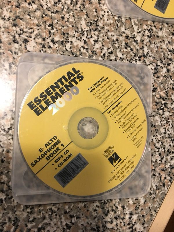Saxophone learning CD