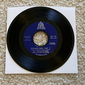 """The Interpretations """"Automatic Soul"""" vinyl 7"""" single 1969 Bell Records Original 1st Pressing gorgeous glossy vinyl collector's copy 60s Funk for Sale in Aliso Viejo, CA"""