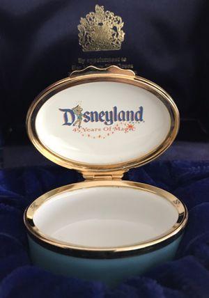 Disney memorabilia enamel pill box 19yrs old for Sale in Upland, CA