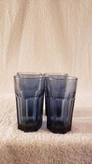 Libbey Gilbrator Dusty Blue Juice Glasses-set of 4 for Sale in Palmyra, VA