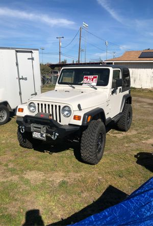 1999 Jeep Wrangler 4.0 sport Price cut ! for Sale in Atwater, CA