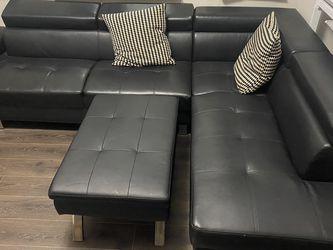 Black L Sofa for Sale in Philadelphia,  PA