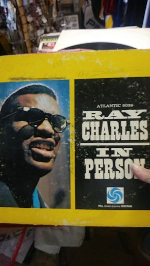 "RAY CHARLES "" IN PERSON ALBUM"" for Sale in San Leandro, CA"