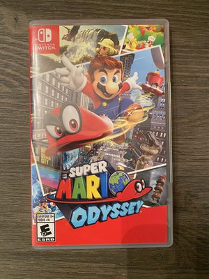 Nintendo Switch Super Mario Odyssey & Captain Toad Tracker for Sale in Milford Mill, MD