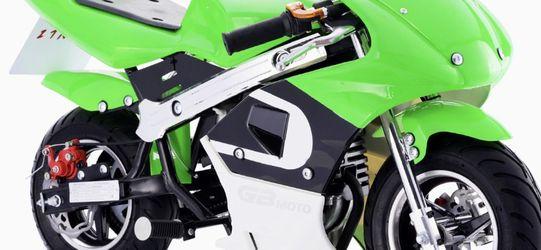 Pocket Bike 40cc Gas 4 Stroke Engine Best Gifts Warranty New for Sale in Burbank,  CA