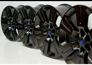"22"" FORD F-150 F150 BLACK WHEELS RIMS FACTORY OEM for Sale in Solana Beach, CA"
