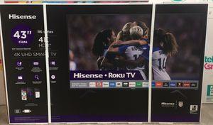 43 INCH SHARP ROKU 4K SMART TV for Sale in Chino Hills, CA