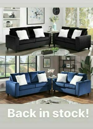 🖤💙Sofa and loveseat 🖤💙 $49 down don't miss deal ✅✅available ✅✅ for Sale in Houston, TX