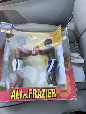 Star War figures and other items boxing wwe kiss bobble heads Disney pins pez more Ali Frazier for Sale in Phoenix, AZ