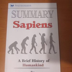 Summary Sapiens Brief History Of Humankind Book for Sale in Los Angeles, CA