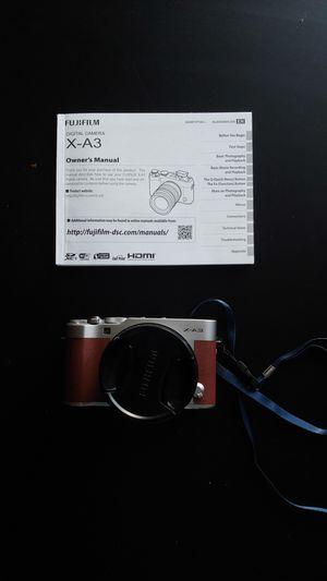 Fuji X-A3 digital camera like new for Sale in Los Angeles, CA