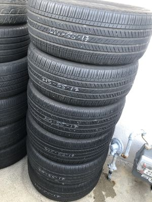 215/55/17 used tires for Sale in Los Angeles, CA