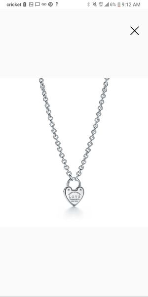 Tiffany and Co. Love Lock Necklace for Sale in MAYFIELD VILLAGE, OH