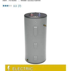 GE 50gal Electric Water Heater for Sale in Stafford, VA