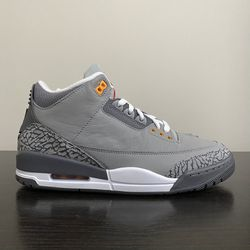 NEW Men's Air Jordan Retro 3 Cool Grey Shoes Size 9 for Sale in Miami,  FL