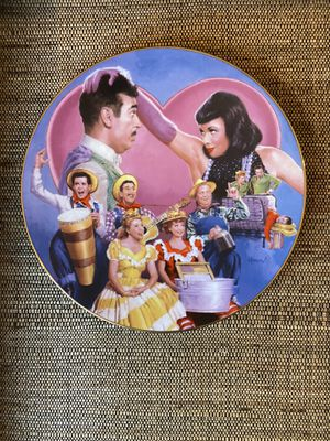 "The Hamilton Collection ""Lucy Meets the Stars"" plate collection individually numbered for Sale in Long Beach, CA"