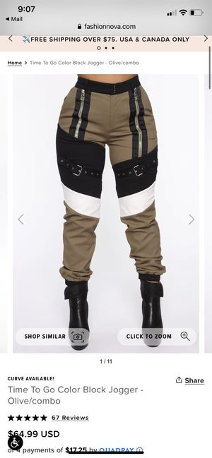 Fashion nova pants never worn for Sale in Clinton, MD