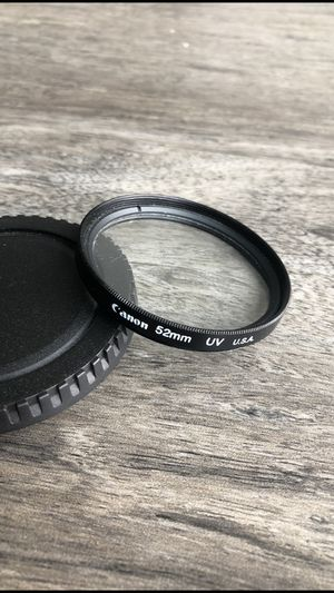 Canon 52mm UV lens filter for Sale in Tampa, FL