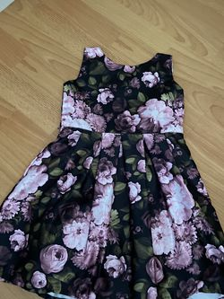 Black And Pink Flower Dress For Toddlers for Sale in San Jose,  CA