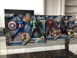 "Brand New Avengers Set ""Captain America, Thor, Iron Man, and Hulk for Sale in Orlando, FL"