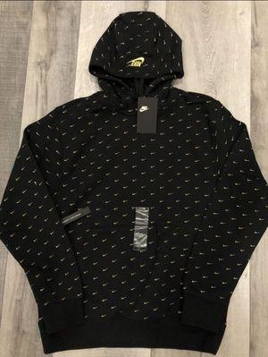 Men's swoosh Nike pullover hoodie Nike sportswear off white Jordan 1 vapormax for Sale in La Habra, CA