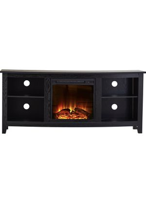 """Brand New TV Stand with Electric Fireplace built in, for TVs up to 60"""" for Sale in Queens, NY"""