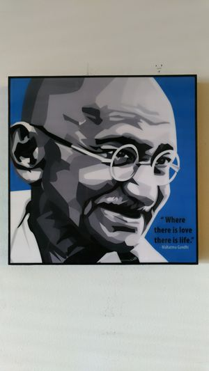 Famous Pop Art Gandhi for Sale in BOWLING GREEN, NY