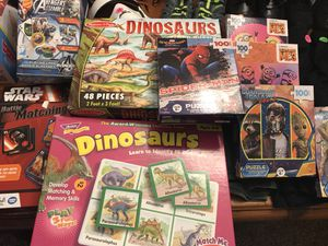 Puzzles/matching games for Sale in Pflugerville, TX