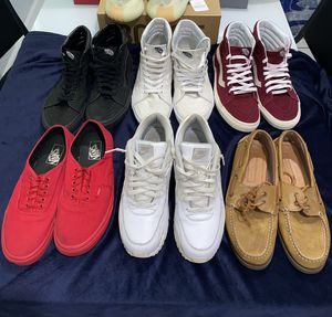 All used shoes air max 90, sperrys, vans high top, vans low Size 9.5 for Sale in Clearwater, FL