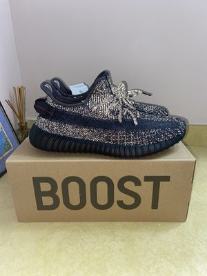 Authentic Adidas YEEZY boost 350 V2 Static Black Reflectives size 10.5 for Sale in Derwood, MD
