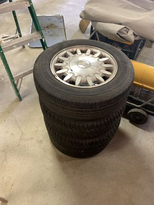 Set of tires & rims P205/ 65 R 15 for Sale in Craryville, NY