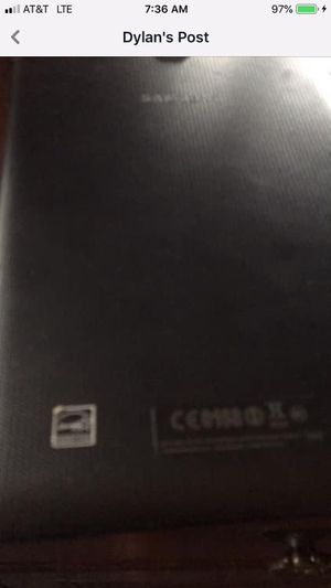 Samsung Galaxy Tablet for Sale in Ravenswood, WV