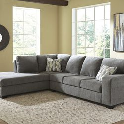 NEW, CHARCOAL COLOR, LAF CORNER CHAISE SECTIONAL. for Sale in Westminster,  CA