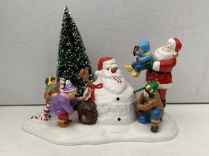 Santa Comes to Town 1988, 4th in Series, The Original Snow Village Dept 56 Accessory Christmas Holiday Season Collectible Figurines 1998 for Sale in OH, US