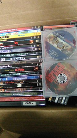 (22) TOP RATED DVD action comedy sci-fi movies for Sale in Houston,  TX