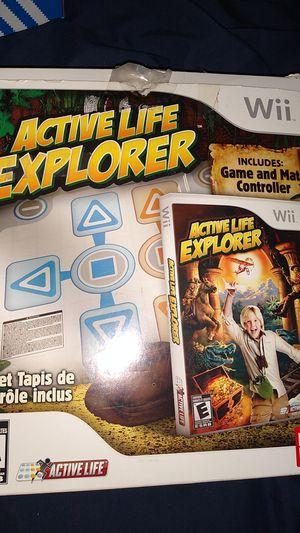 $15 active life Explorer no game nintendo Wii for Sale in Las Vegas, NV