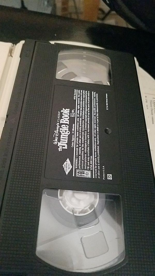 VHS JUNGLE BOOK