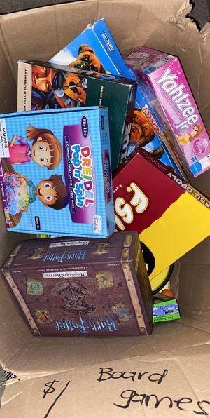 $1 each board games & educational toys for kids for Sale in Long Beach, CA