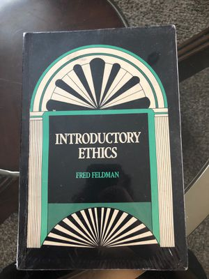Introductory Ethics by Fred Feldman for Sale in Butte, MT