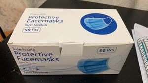 Disposable 3ply face masks 50pc (set of 2) for Sale in Queens, NY