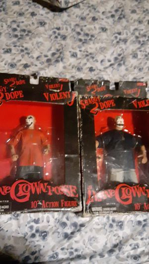 Insane clown posse original action figures for Sale in Columbus, OH