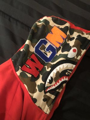 Authentic Bape zip up jacket for Sale in Denton, TX