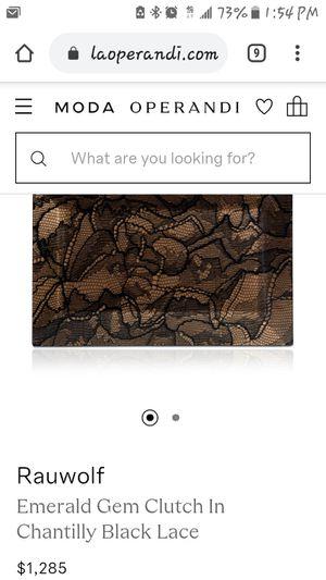 Rauwolf Designer Clutch Bag for Sale in Boston, MA