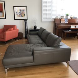 Leather Chaise Sectional | LA Furniture for Sale in Hermosa Beach,  CA