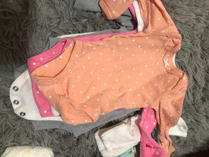 Long sleeve newborn onesies for Sale in Oakland, CA