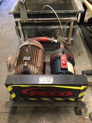 Hydra cell D35 Pump & 25 hp Motor for Sale in Overland Park, KS