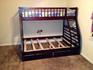 Bunk bed T/F wood for Sale in Manassas, VA