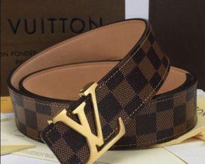 Louis Vuitton belt 32-34 waist for Sale in Streamwood, IL